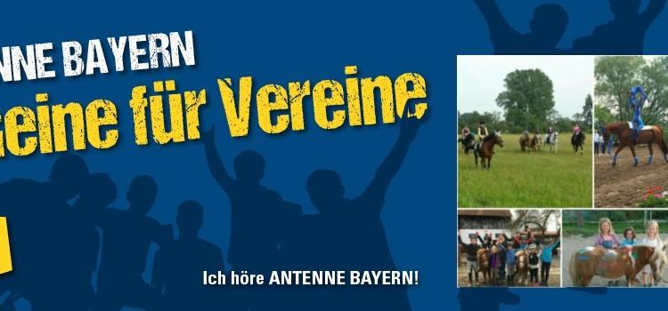 Scheine für Vereine von Antenne Bayern – Wir sind dabei!